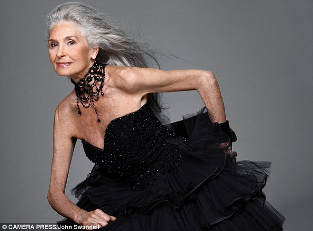 Daphne Selfe modelo