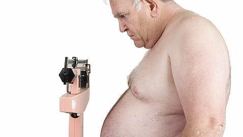 adulto mayor obeso