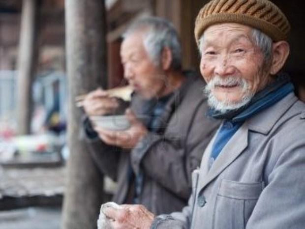 adulto mayor China
