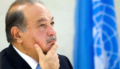 Carlos  Slim es un mayor de hoy