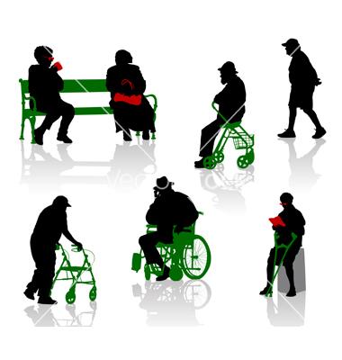 Adulto mayor con discapacidad