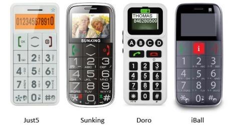 celulares para adultos mayores
