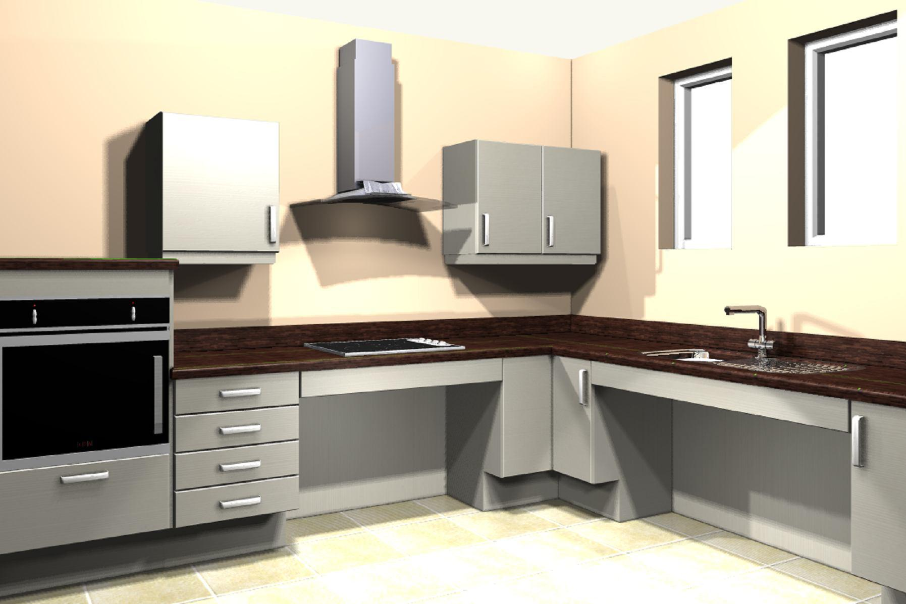 Mobility kitchen easy access kitchen fitters reading for Proyectos de cocina easy