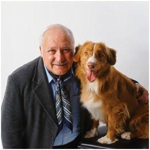 adulto mayor y su perro