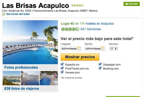 Trip advisor hotel las brisas acapulco