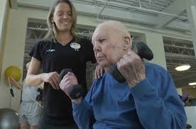 John Forbes 103 años Virgina