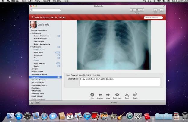 my medical app