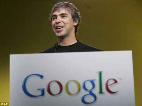 Larry Page, co fundador de google