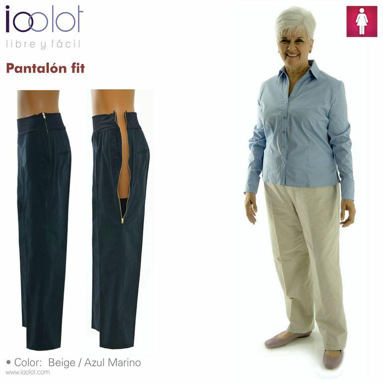 pantalones para mujeres mayores de 60 años