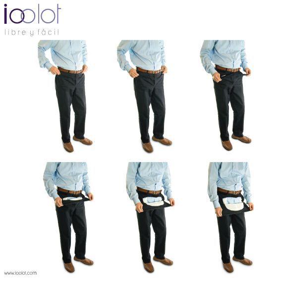 pantalón para adultos mayores
