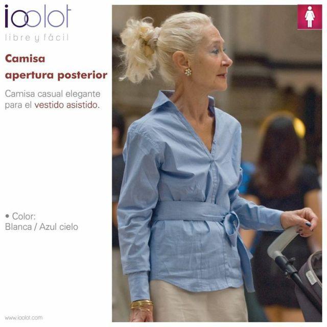 camisa para adultos mayores ioolot