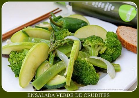 Ensalada verde de Crudités