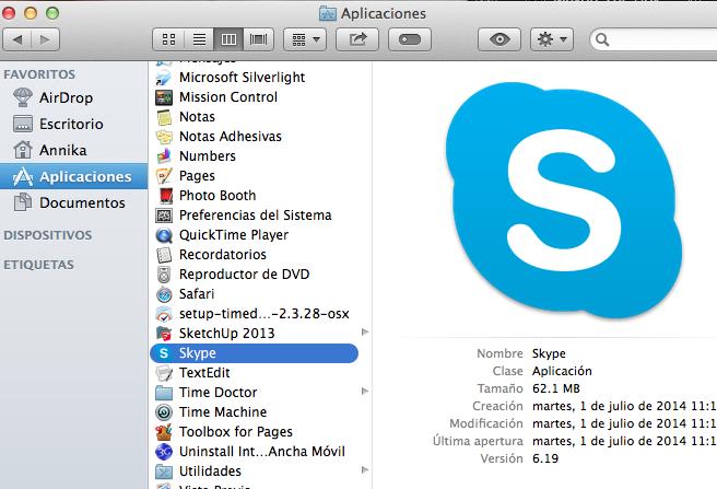 cómo instalar skype