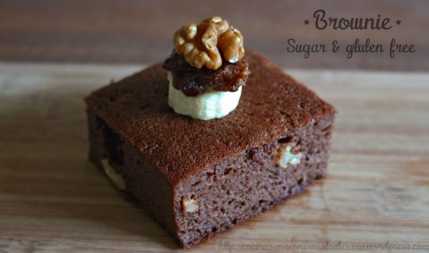 Brownie sugar and gluten free