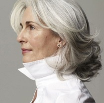 curly-hairstyle-for-grey-hair