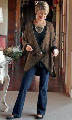 Jeans para mujeres mayores