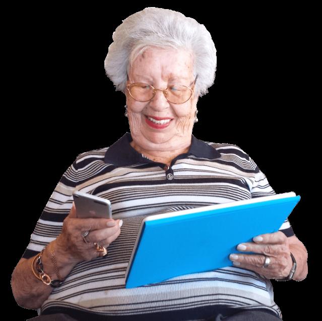 Uso de la Tecnología en la persona mayor