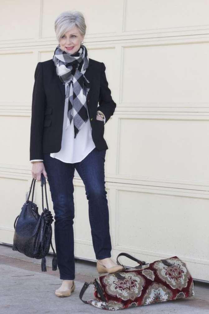 Jeans para mujeres mayores de 60