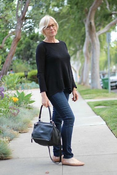 jeans para mujeres mayores de 50 años