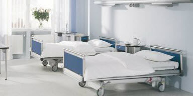 mobiliario de hospital