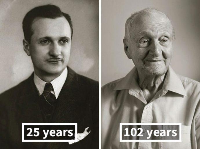antes-y-ahora-la-misma-gente-fotografiada-de-jovenes-y-con-100-anos-de-edad-1494323735