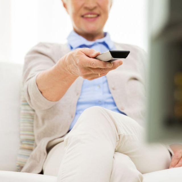 TV y personas mayores