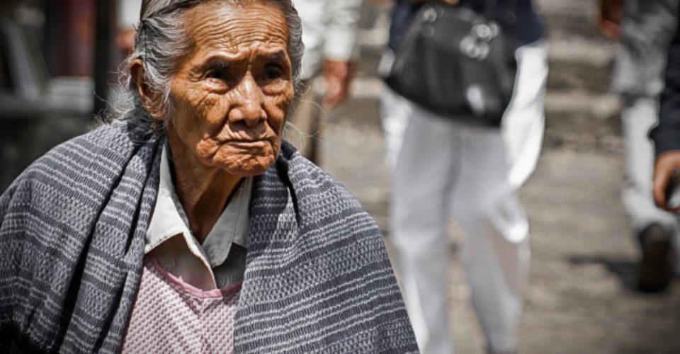 adulto mayor en México