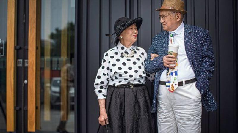 moda pareja mayor