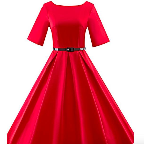 Vestido vintage años 50s