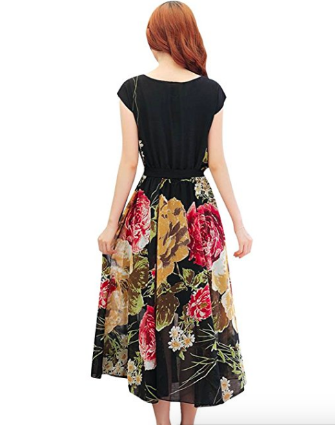 Vestido floral de verano