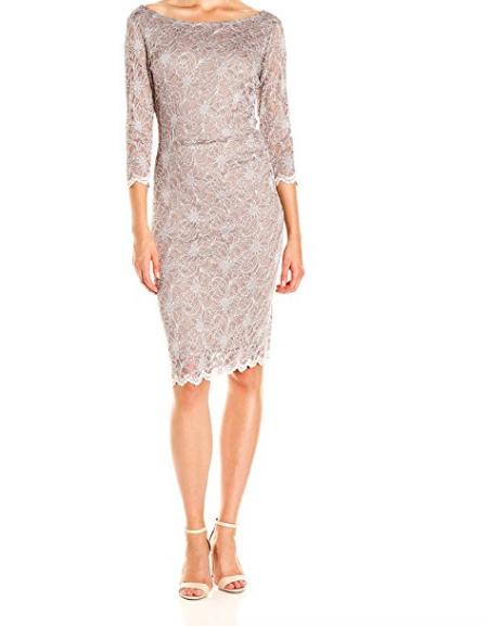 Vestido elegante para mujeres mayores