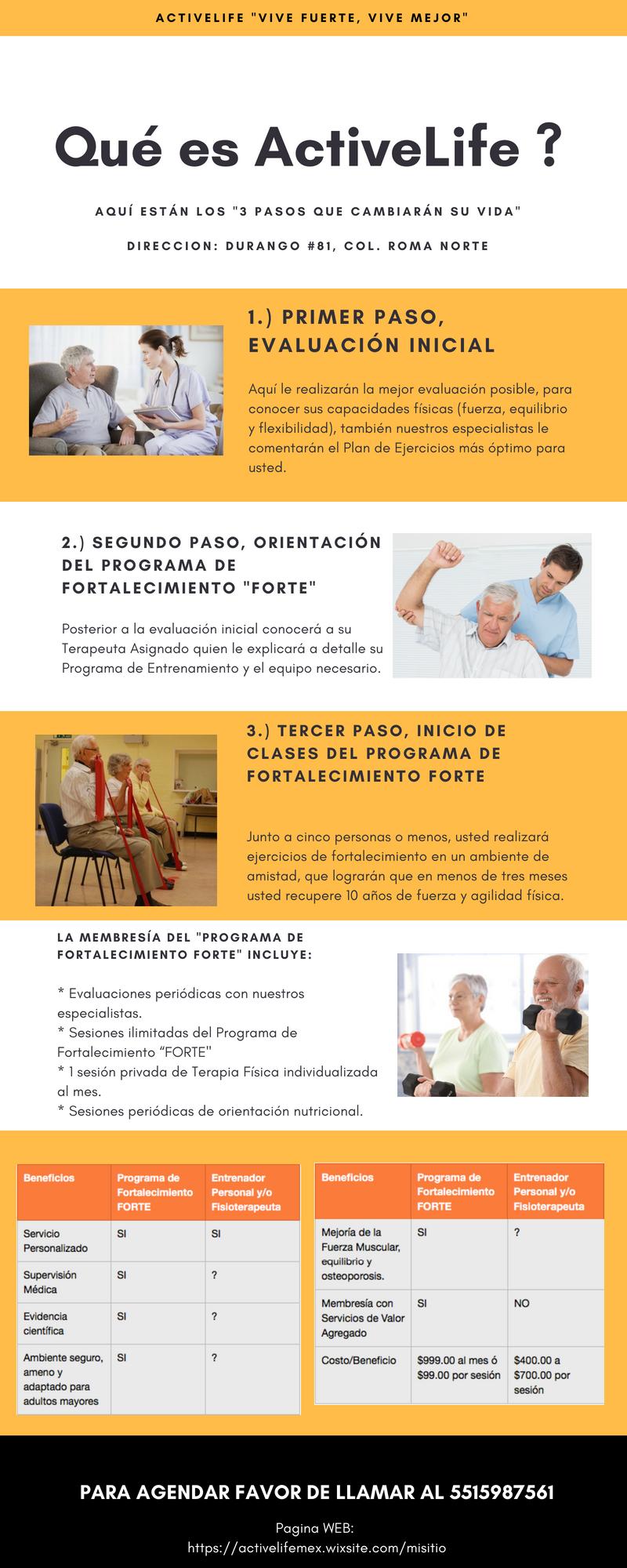 Activelife-gimnasio para mayores en México