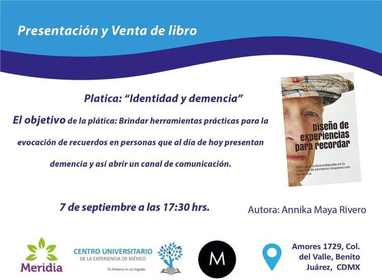 Libro sobre demencia en México