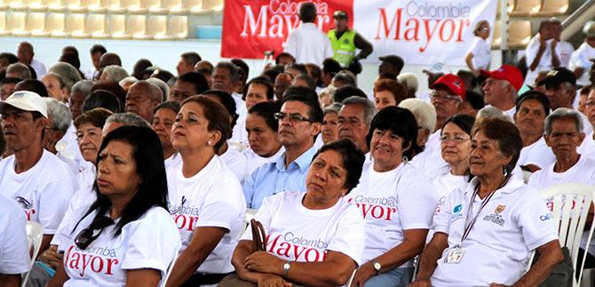 Adulto mayor Cali Colombia