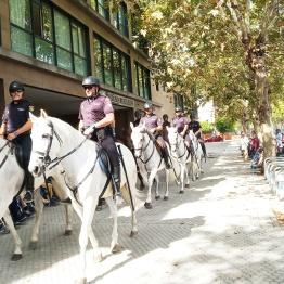 Policía en Fundomar 2