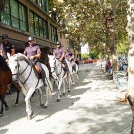 Policía en Fundomar 3